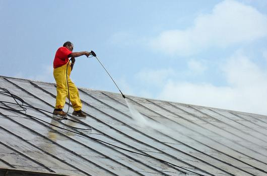 DOMESTIC ROOF CLEANING
